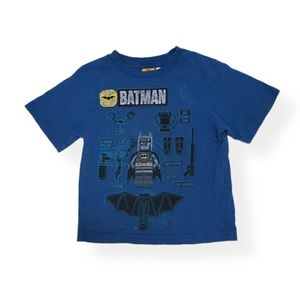 Lego Batman blue tee shirt